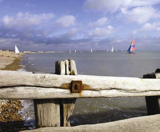 Hastings, UK: Sailing at Pevensey