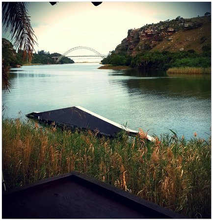 Umtamvuna River Lodge: The View