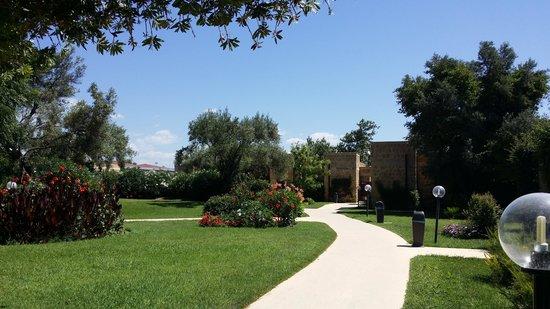 VOI Floriana Resort: Blick in die Grüne Oase der Anlage