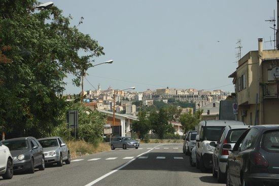 VOI Floriana Resort: Catanzaro traumhaft itl. Stadt ( 16 km )