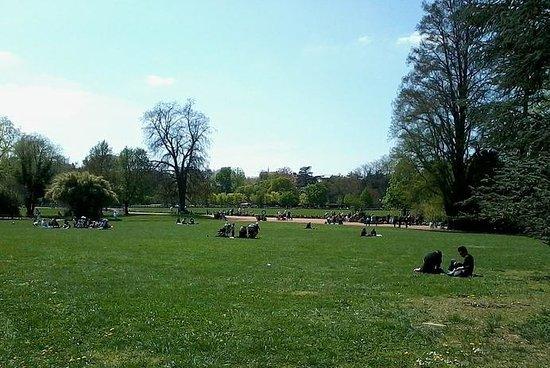 Parc de la Tête d'Or : Parc Plaine