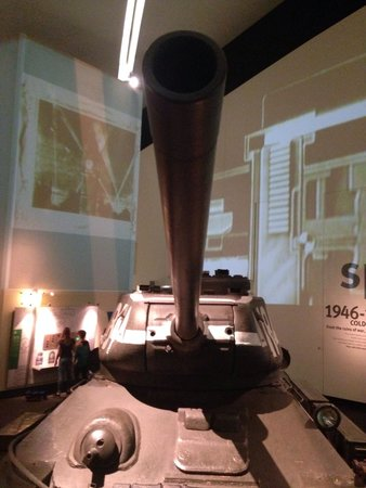Imperial War Museum North: Woow russian tank!