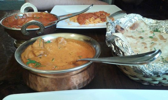 Mutton Curry Chicken Madras Paneer Naan Picture Of Curry House