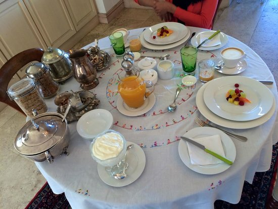 Kanonkop Guest House: Breakfast