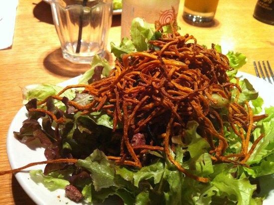 River : Amazing green salad