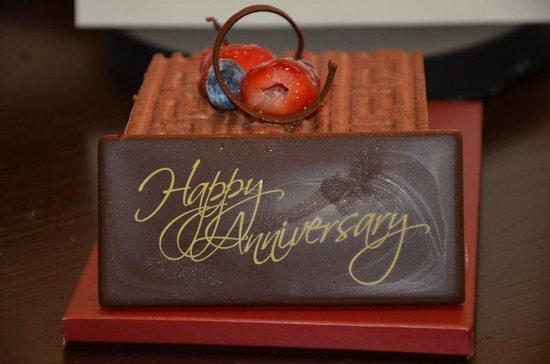 Jumeirah Dar Al Masyaf at Madinat Jumeirah : Complimentary cake
