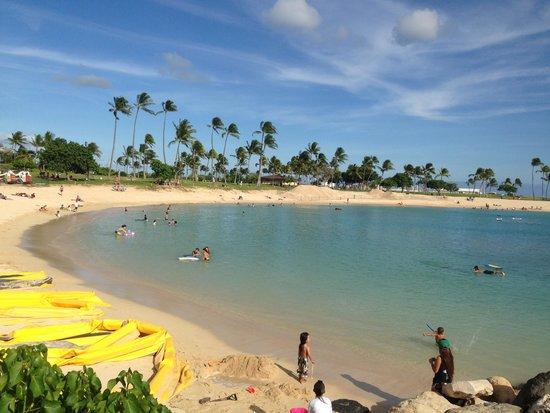 Ko Olina Lagoons: Small but safe lagoons