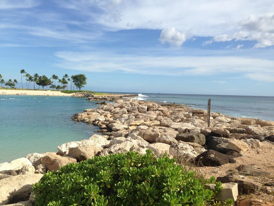 Ko Olina Lagoons: Manmade small lagoons sheltered for wind and waves