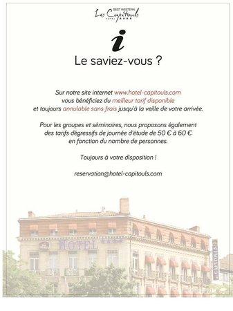 Best Western Hôtel les Capitouls : reservation