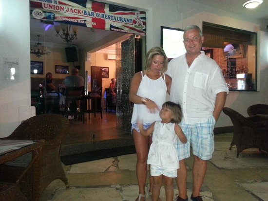 Union Jack Bar and Restaurant : me and mine