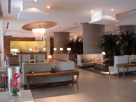 The Grand Bliss: The lobby