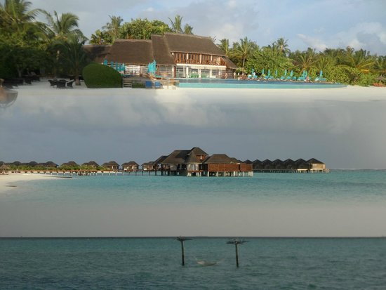 Anantara Dhigu Maldives Resort: VIEW OF THE RESORT