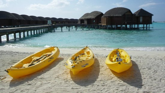 Anantara Dhigu Maldives Resort: WATER SPORT CENTER