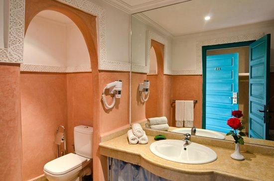 Hotel Riad Berbere : salle de bain