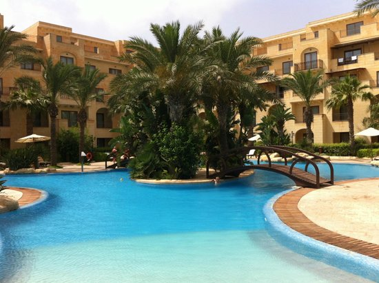 Kempinski Hotel San Lawrenz : Une des piscines