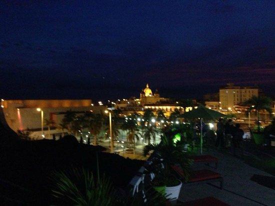 Hotel Monterrey : Vista de la terraza