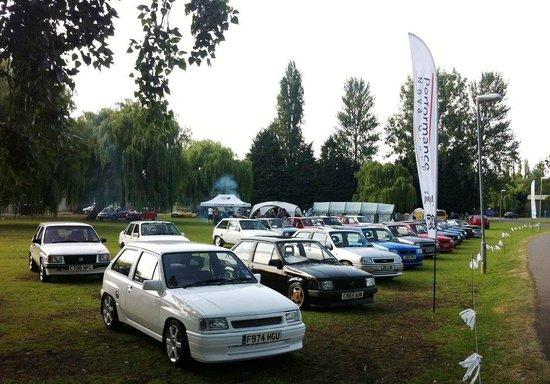 Billing Aquadrome Car Show