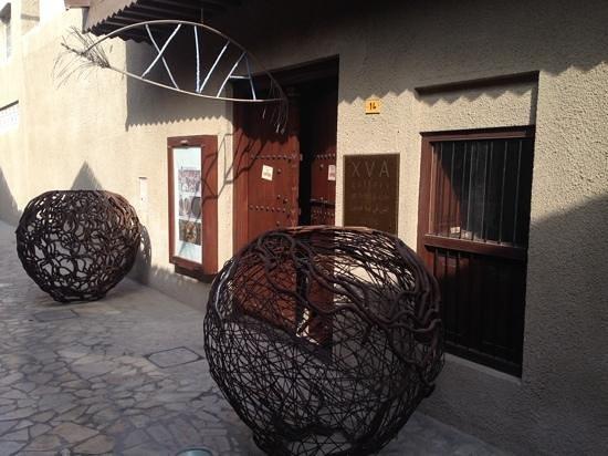 XVA Art Hotel: entrance