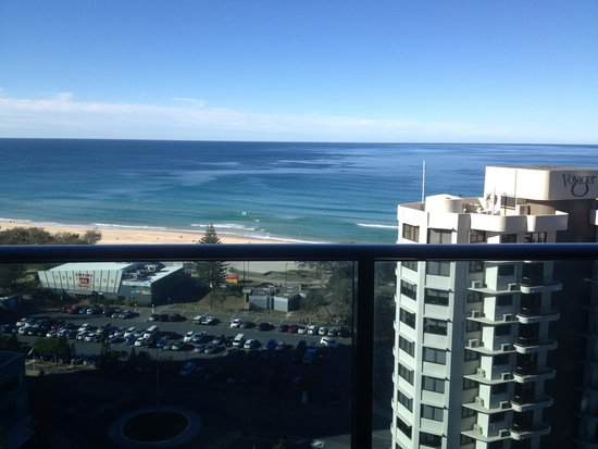 Peppers Broadbeach: It's tough waking up to this view each morning, but someone has to do it!!