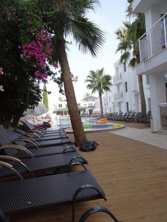 Queen Resort Hotel: view from balcony room 402