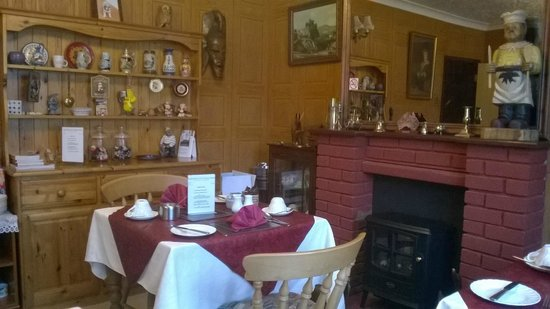 Paston Lodge Bed & Breakfast Hotel: Nice diner.