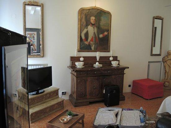 Le Stanze del Carro: The room