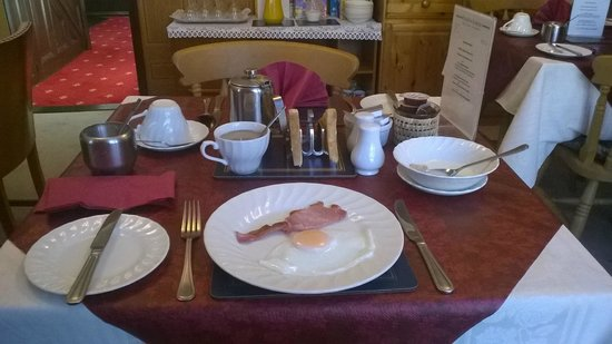 Paston Lodge Bed & Breakfast Hotel: Breakfast...this is just the starter.