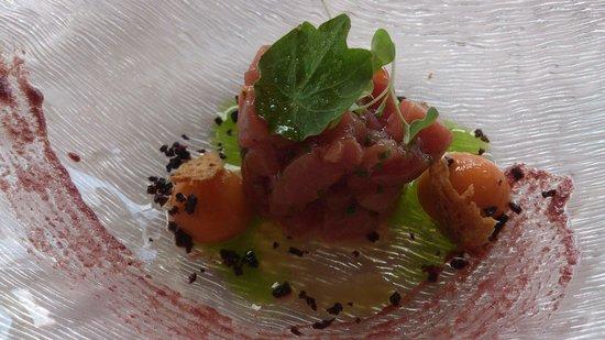 Alameda Restaurant: Tartar de atun marinado