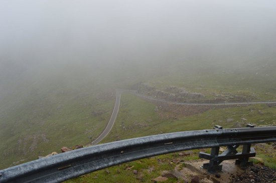 Bealach na Ba Road: Going down there, I think!