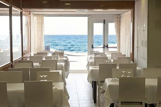 Hotel Rosamar Maxim - Adults Only: Vistas del comedor
