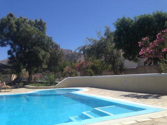 Hotel Anastasia Santorini: pool area