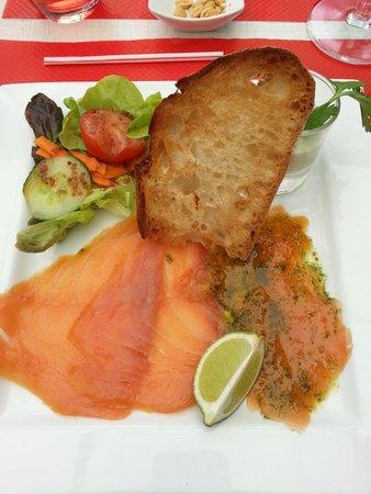 Bistro Quai : duo saumon