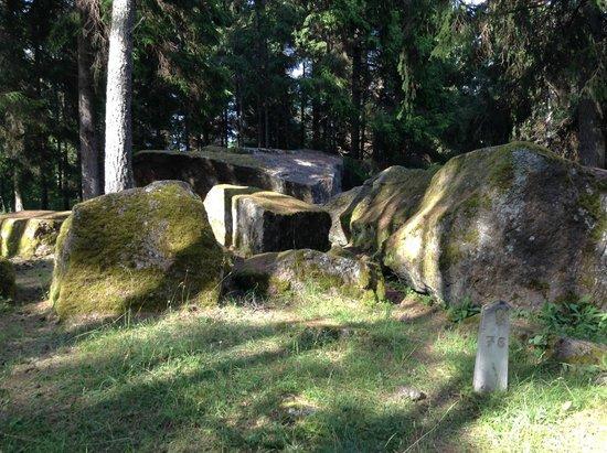 Puhalepa, Estonia: Boulders