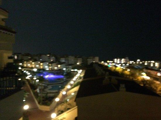 Laguna Park 1: night view from balcony