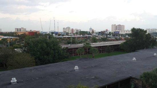 Rosen Inn International : View from room - top floor, main building