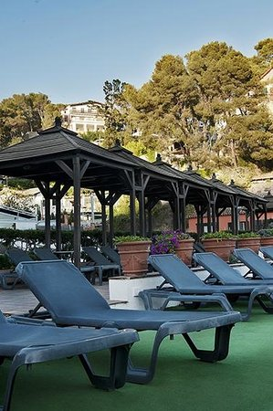 هوتل روزامار آند سبا: giardinetto