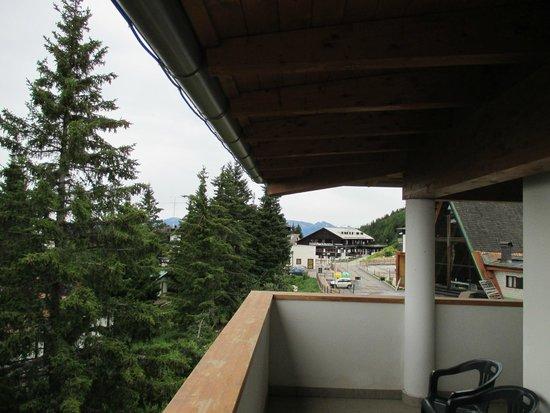 Hotel Alpine Mugon : Balkon