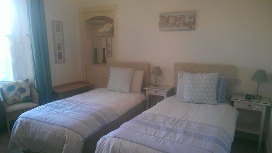 Wester Dura B&B: Moatville, twin (or superking) bedroom