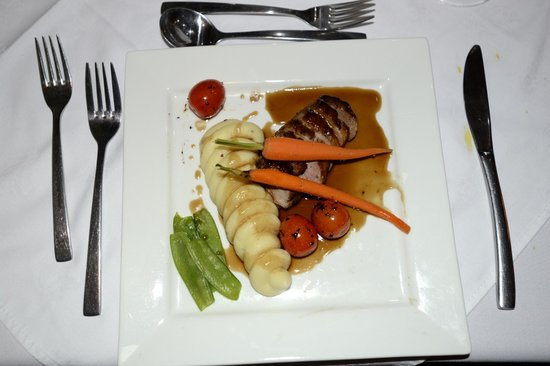 Mimosa Lodge: Abendessen