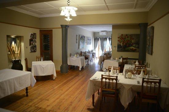 Mimosa Lodge: Restaurant udn Frühstücksraum