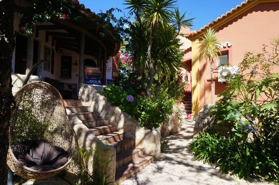 Villas D. Dinis: Hotelgelände