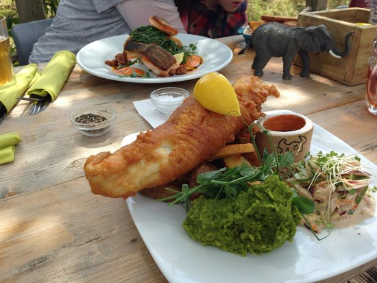 The Sheppey: Yummy fish with samphire