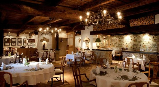 """Eurener Hof: Restaurantraum """"Wilder Kaiser"""""""