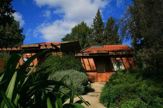 Ramot Menashe, Israel: Wooden Cabin