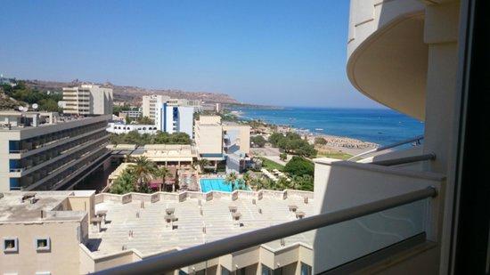 Pegasos Beach Hotel : Widok