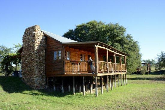 De Zeekoe Guest Farm: Außenansicht Cabin