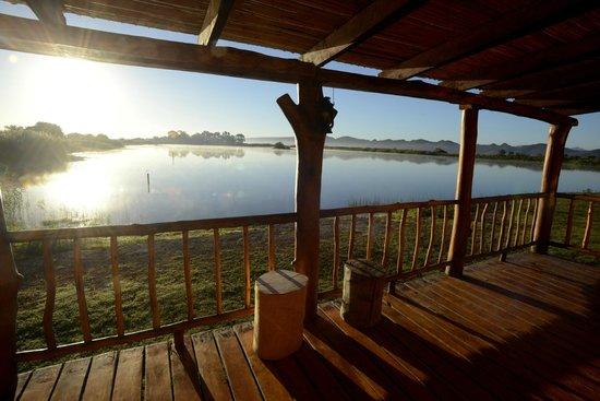 De Zeekoe Guest Farm: Veranda Cabin