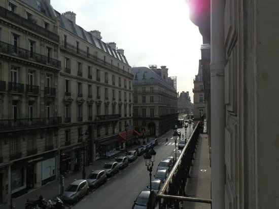 Hotel Lumen: view from the room