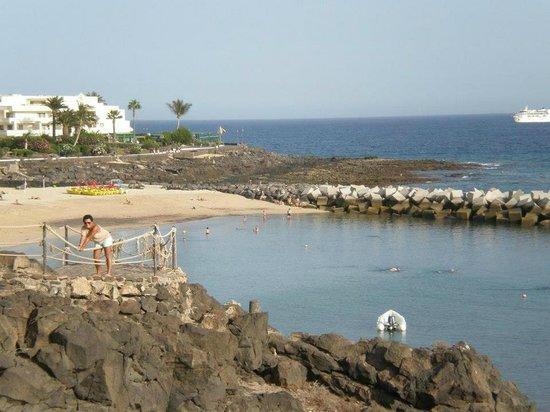Royal Monica Playa Blanca: Playa blanca