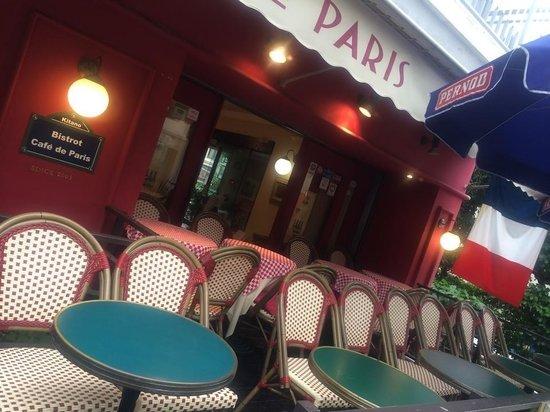 Bistrot Cafe de Paris : -(^_*)-